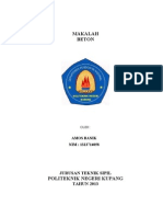 JUDUL MAKALAH BETON.doc
