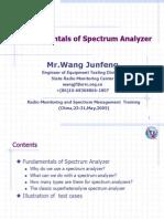 Fundamentals of Spectrum Analyzer