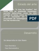 Estado Del Arte(Edicion)