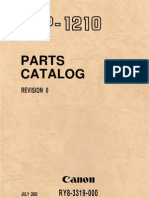 Canon LBP-1210 Parts Catalog