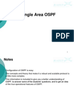 Single Area OSPF - Sep 07