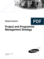 Project Programme Management Strategy Nov 2005
