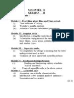 german basics II