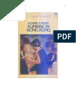 Vintage - Sunrise in Hong Kong - Denise Emery 1982