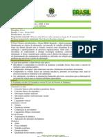 Plano de Trabalho Docente - Cronograma - InF 13-1 Ano