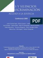 Rita Segato y Otros - Voces y Silencios de La Discriminacion. Acceso a La Justicia