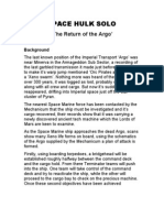Return of the Argo 1