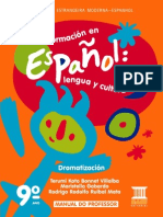 Pnld2014 Formacion en Espanol 9ano