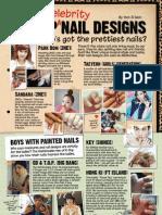 K-Pop Celebrity Nail Designs
