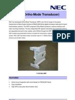 Ortho Mode Transducer