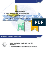 sap crm businee partner