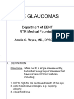 The Glaucomas