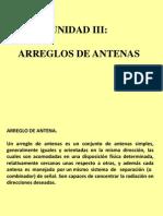 Presentación1 ARREGLOS DE ANTENAS