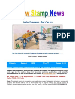 August Rainbow Stamp News 2013