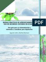Buenas prácticas de aprovechamiento y Uso de Recursos Costeros en Ecuador