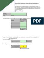 Equation H-1 Calculation Spreadsheet