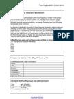 Facebook Lesson Plan Worksheets