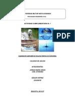 Actividad complementaria 1. Calidad de aguas Jorge Riaño D7302002