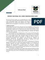 Informe Remate Libro 2008