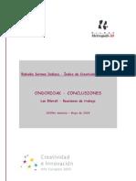 Conclusiones Índice de Creatividad de Bizkaia