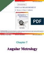 Angular Metrology