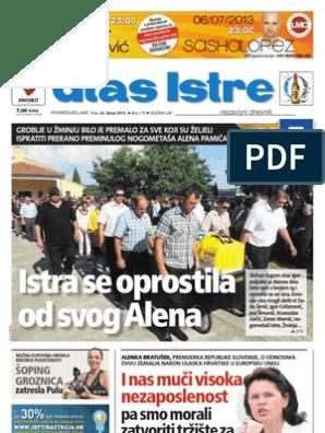 586ac5e6bae Istra se oprostila od svog Alena: I nas muči visoka nezaposlenost