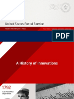 United States Postal Service Thesis