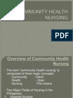 Community Health Nursing Ppt