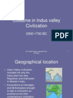 Costume in Indus Valley CivilizationSes-2