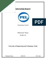 Internship Report of Pak Elektron Limited