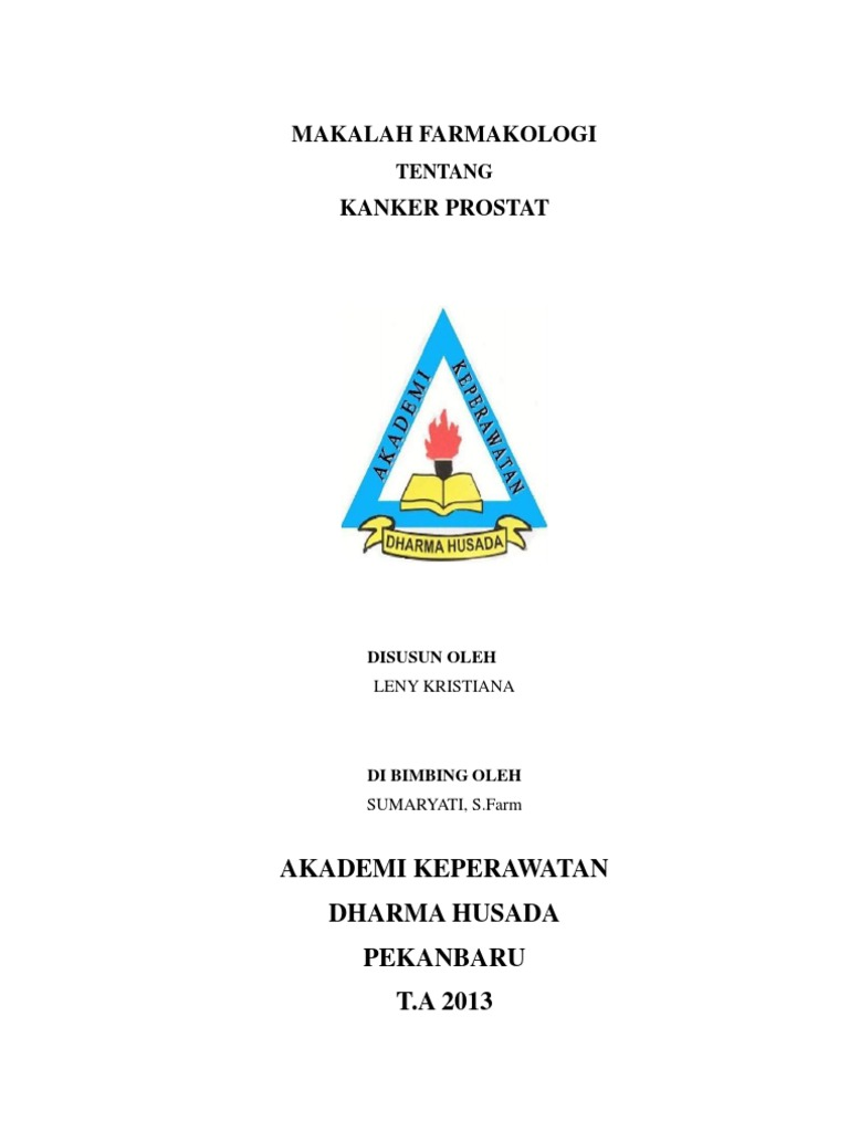 Makalah Farmakologi: Akademi Keperawatan Dharma Husada ...