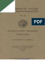 Alexander hoards. III