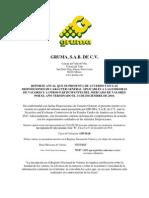 Informe Anual Gruma 2010 - e - (Version Final) Con Anexos