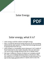 Solar Energy41
