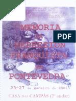 Ciclo Educacion e Cidadania Memoria Da Represion Franquista