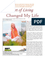 Art of Living Changed My Life