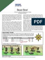 Experimental Beastmen Rules for Blood Bowl