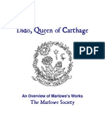 Marlowe Society Dido Overview