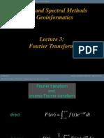 Convolution & Fourier Transform