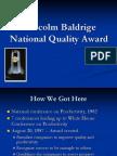 Baldrige Award