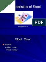Characteristics of Stool 869