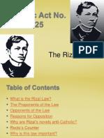 Rizal Law-1