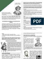 DESCUBRIMIENTO DE AMÉRICA Y CONQUISTA DEL TAHUANTINSUYO