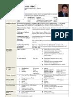 CV Pattern by Faisal Noor Afridi
