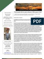 Carta Misionera Julio 2013