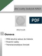Transnacionální vazby českých NNO