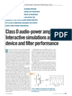 Class D Amplifiers - Interactive Simulations