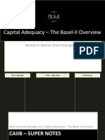 72685432-CAIIB-Super-Notes-Bank-Financial-Management-Module-D-Balance-Sheet-Management-Capital-Adequacy-–-The-Basel-II-Overview