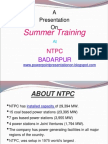 presentation for electrical engineering in ntpc