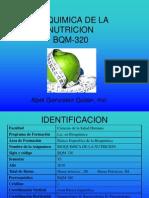 Bioquimica de La Nutricion